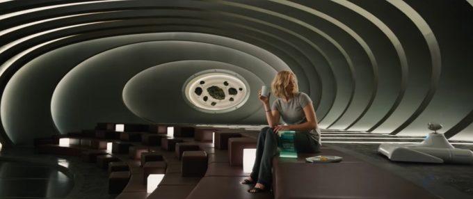 thiết kế bối cảnh phim điện ảnh Passengers