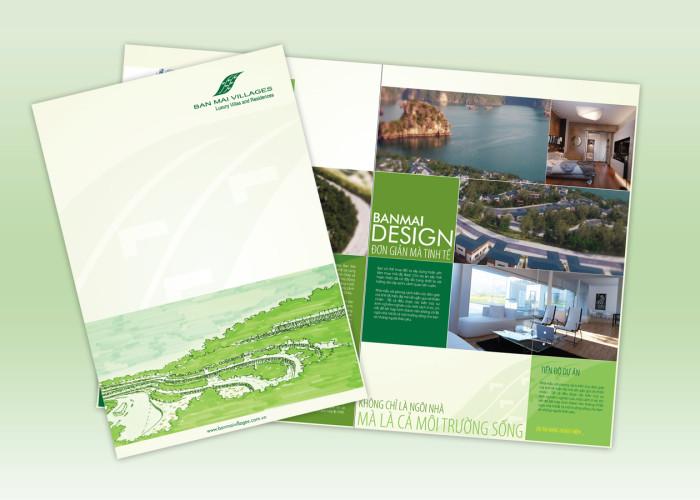 Catalog Design – Ban Mai Ha Long