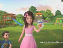 Phim hoạt hình quảng cáo 3D Con Bò Cười 2014