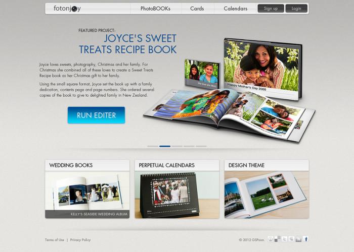 PhotoBook online service