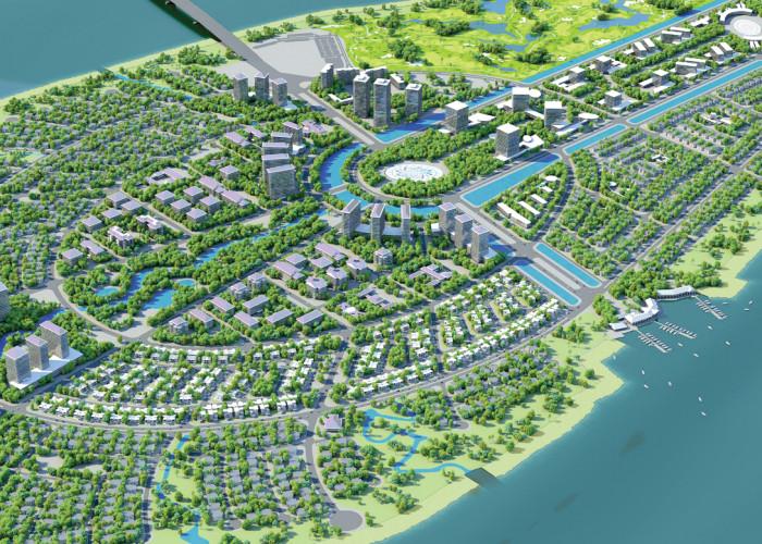 Phim 3D kiến trúc dự án Lotus Đại Phước