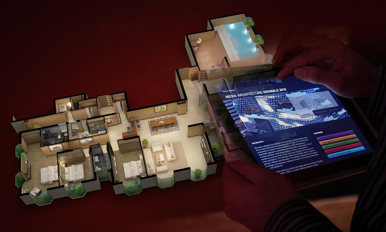 3D Kien Truc Dien Hoa Ipad