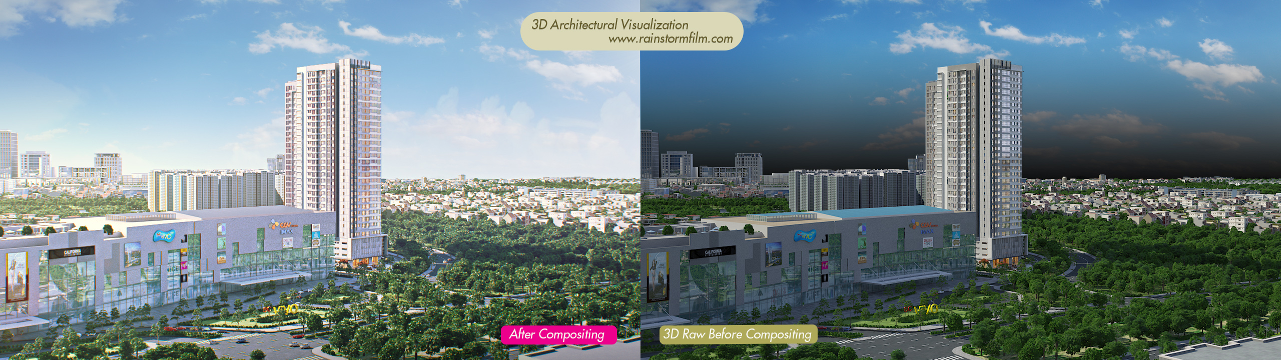 Richlane – Mapletree – Architectural Animation Video