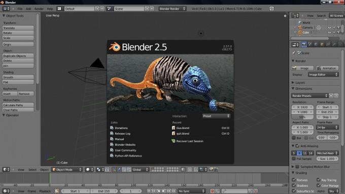 phần mềm thiết kế 3D mã nguồn mở