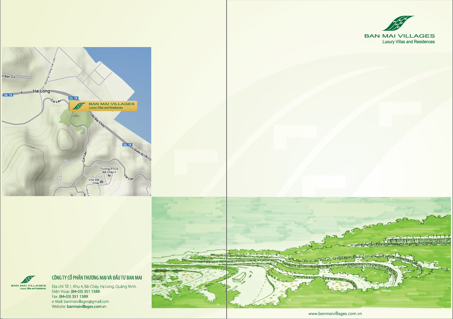 Catalog Design – Ban Mai Ha Long