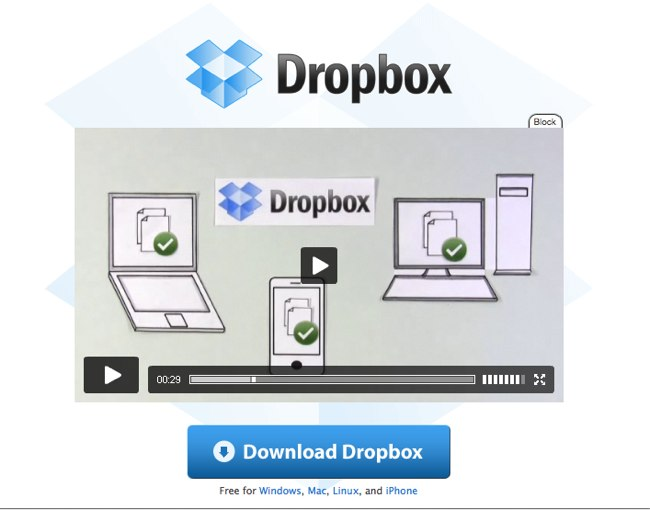 Video giải thích (Video Explainer) Dropbox