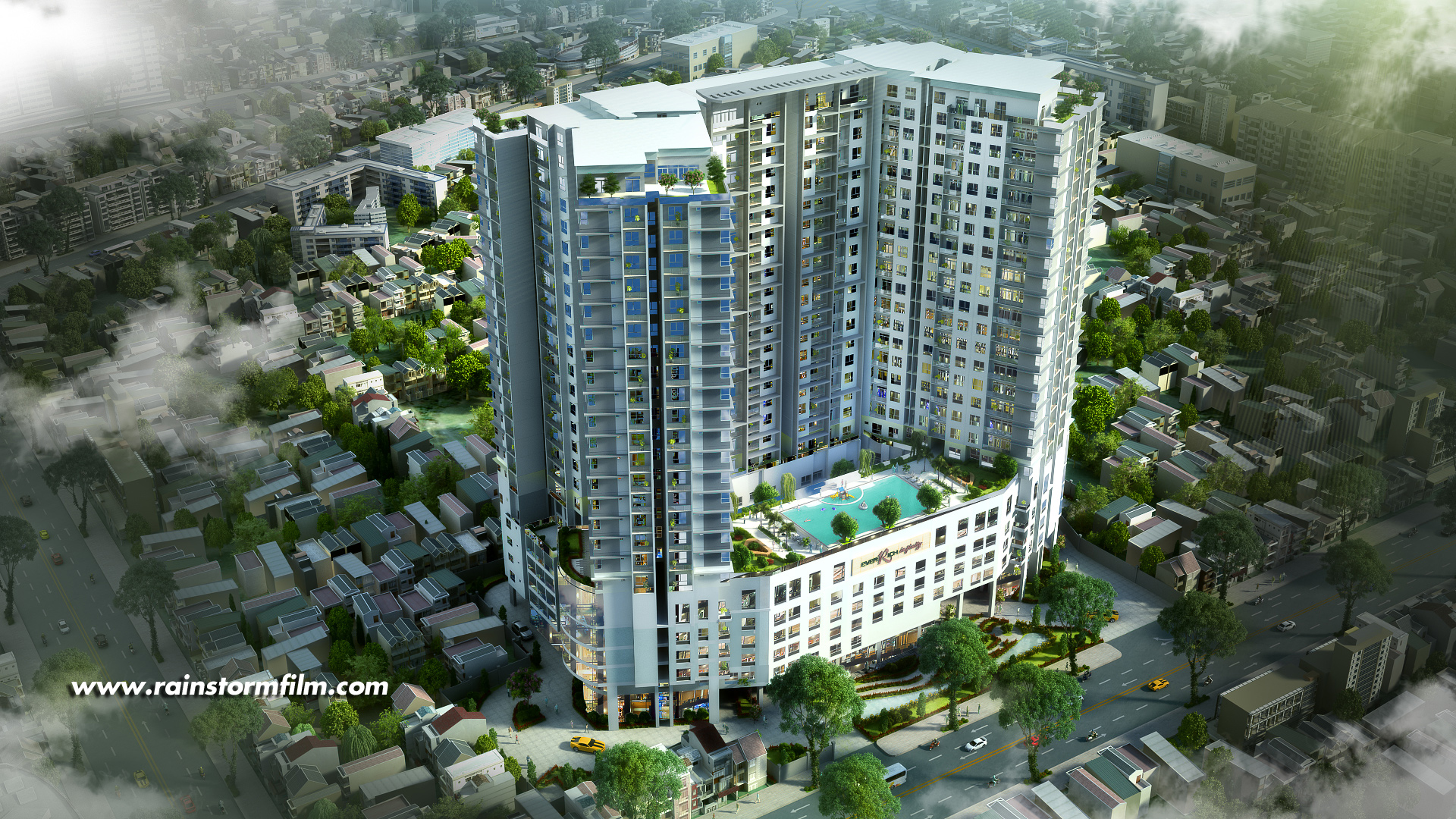 Everrich Infinity 3D Architectural Rendering
