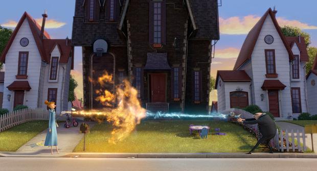 Phim hoạt hình 3D - Rainstorm Film blog