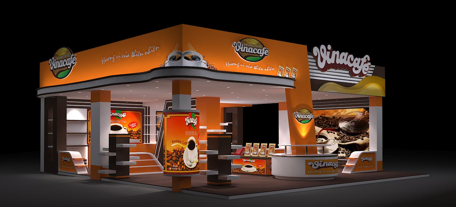 VinaCafe's booth
