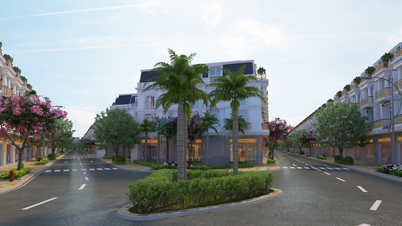 Video 3D Dự Án Center Hills
