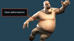 sự biến dạng trong rigging, làm phim hoạt hình