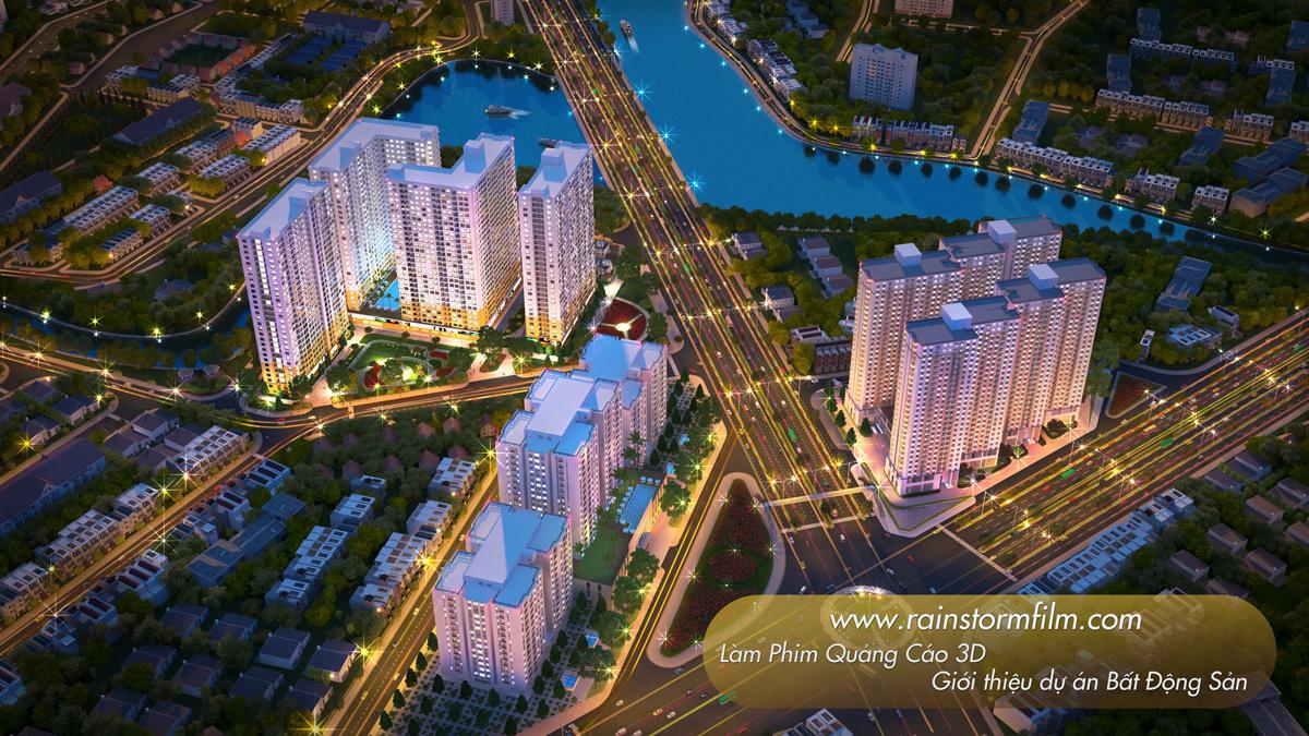 Diamond Riverside làm phim kiến trúc giới thiệu dự án bất động sản