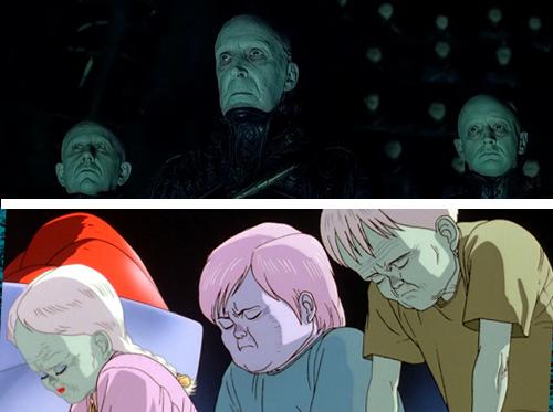 So sánh sự giống nhau của Dark City và Akira