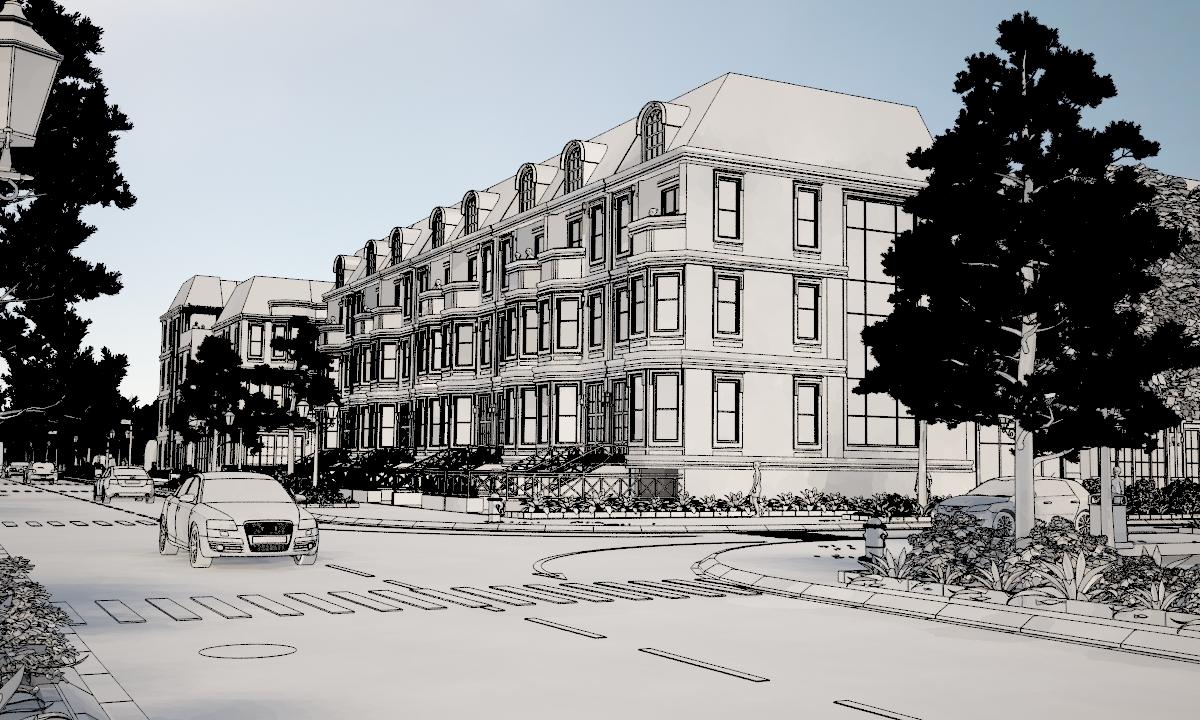 Làm phim 3d kiến trúc quảng cáo dự án bất động sản Beacon Pass