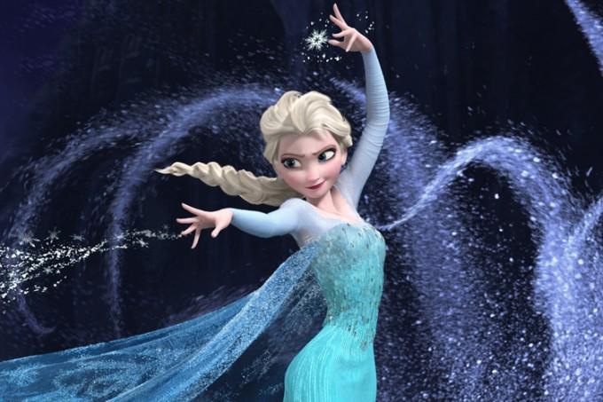 Các nữ hoàng trong phim hoạt hình 3D Frozen- Rainstorm Film