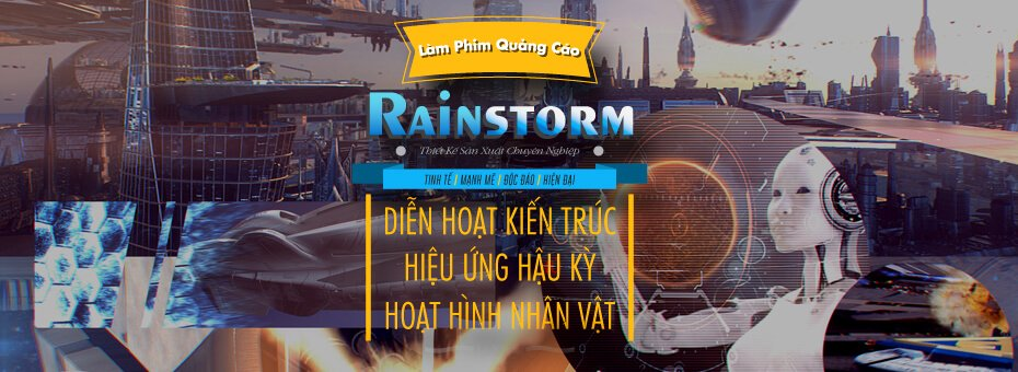 Rainstorm Film – 3D Multimedia Animation  | Vietnam
