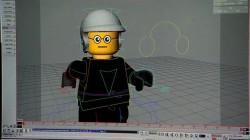 mô hình hoá nhân vật The Lego Movie