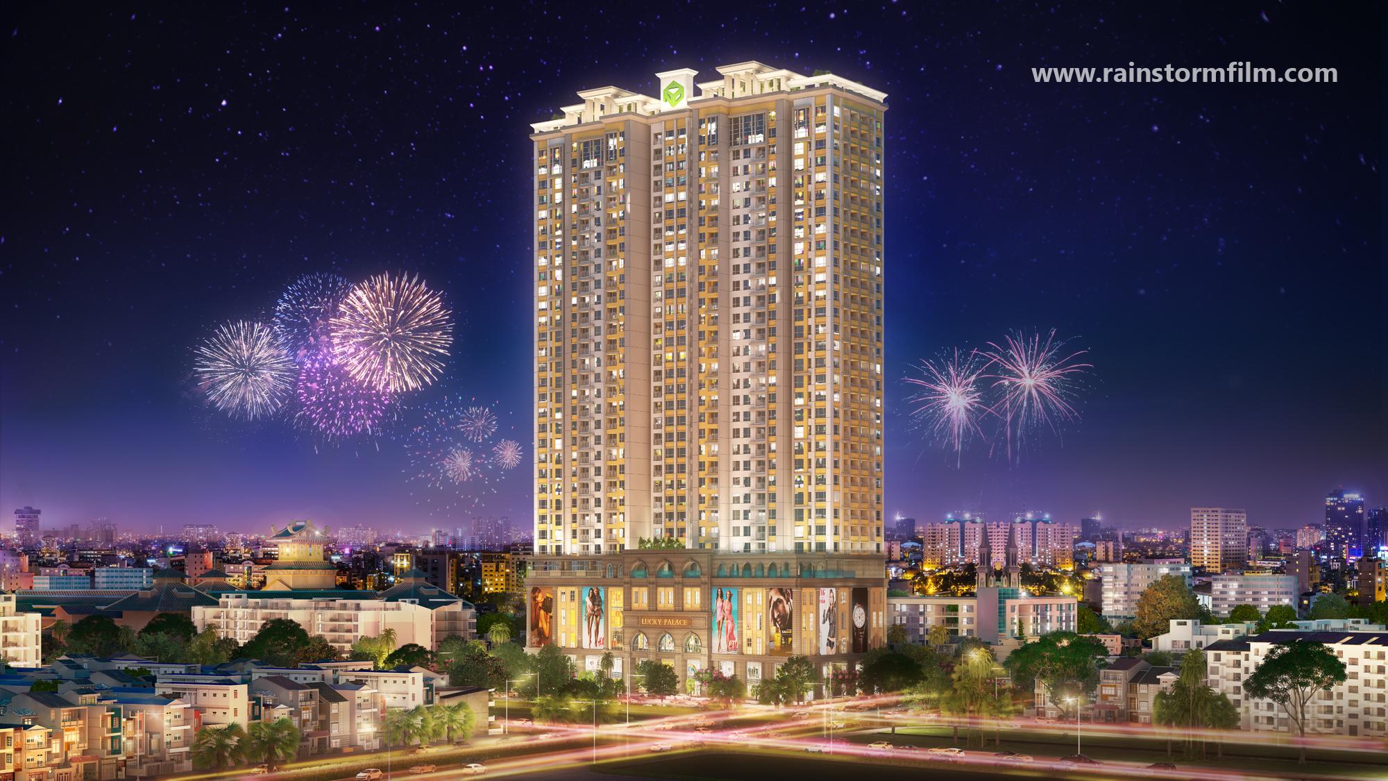 dự án Lucky Palace Novaland