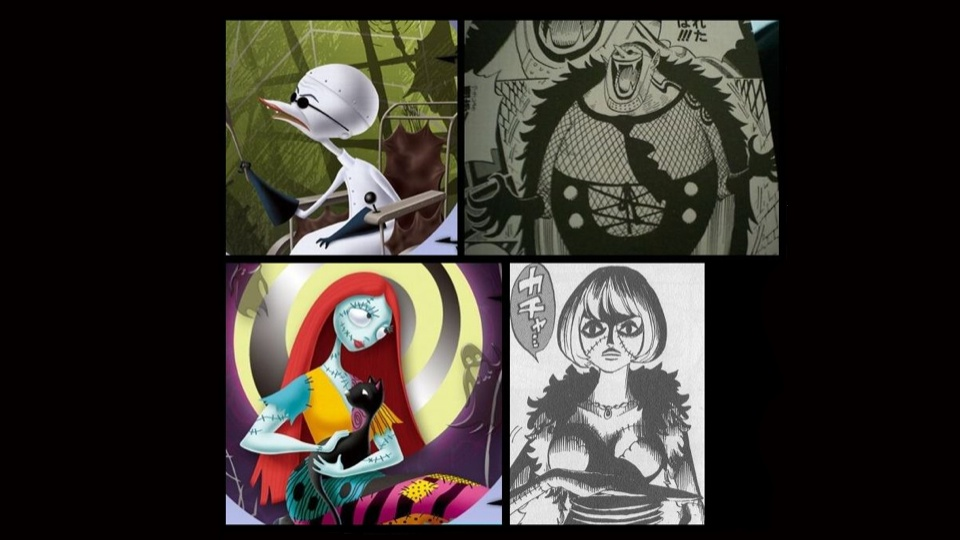 Kotaku : ảnh về giống nhau hình vẽ của Night Before Christmas và One Piece