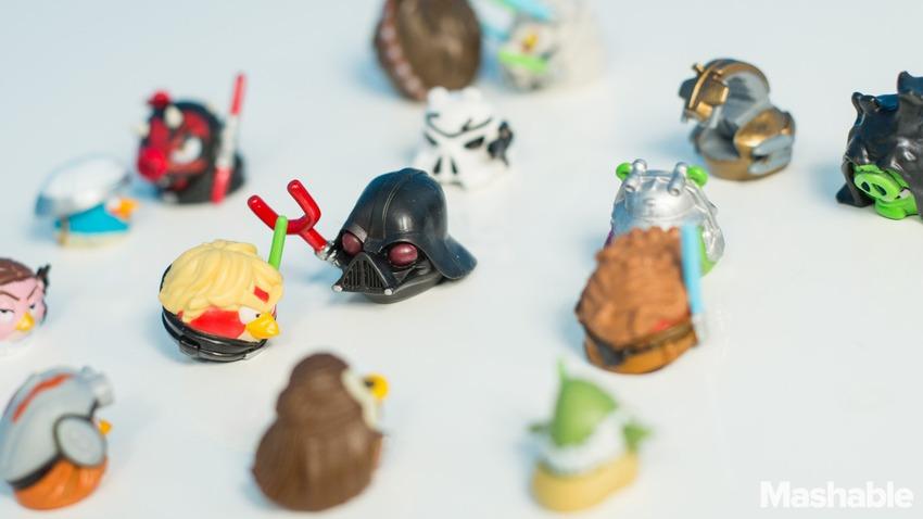 Rovio làm đồ chơi Angry Birds Starwar
